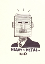 heavy metal kid